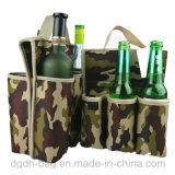 6本のびん携帯用ビールクーラー袋の卸売によって絶縁されるネオプレンのびんの袖