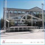Крыша Lowes связывает алюминиевую ферменную конструкцию шатра этапа