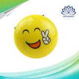 Altavoz sin hilos sin hilos de Emoji de la mini cara promocional de la sonrisa para el regalo
