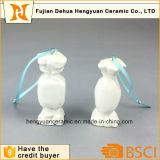 Het aangepaste Hangende Ornament van het Decor van het Suikergoed van Kleuren Ceramische