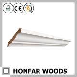 Preço moldando aprontado branco por atacado da coroa de madeira melhor