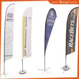 bandierina su ordinazione della piuma 4PCS per pubblicità o Sandbeach di evento o esterna