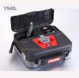 Compressor de ar portátil do pneu de carro 12V com luz do diodo emissor de luz