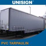 tela incatramata laterale stampabile bianca della tenda del PVC 900GSM