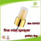 Золотистый выход 0.12ml ворота штрафует спрейер тумана для использования бутылки
