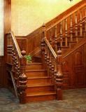Escaleras de interior modernas de madera sólida