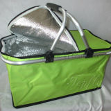 大きい容量のFoldable絶縁されたより涼しいピクニックバスケット袋