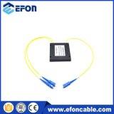 좋은 가격을%s 가진 Efon Gpon Epon 1*2 카세트 PLC 쪼개는 도구