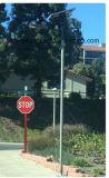 50W de slimme Infrarode ZonneStraatlantaarn van de Inductie voor Binnenplaats