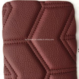 Кожа PU Stiched Microfiber губки для крышек места Hx-W1704 автомобиля