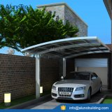 Parking durable résidentiel d'aluminium de toit de polycarbonate