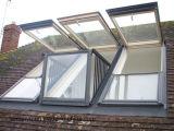 이중 유리로 끼워진 Windows 유리제 지붕 머리 위 Windows 디자인 스카이라이트 Windows