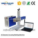 携帯用3Dダイナミックな金属レーザーのマーキング機械Sg2206-3D
