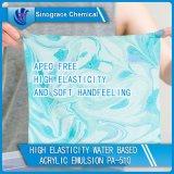 Emulsión de acrílico de la adherencia excelente para la materia textil