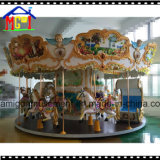 24 de Apparatuur van het Pretpark van de Carrousel van het Paard van zetels Voor Verkoop