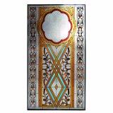 Mooie Hand - het gemaakte Venster van het Art deco van het Mozaïek van het Gebrandschilderd glas van de Kerk