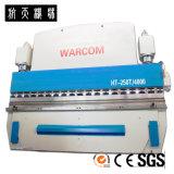 Cortador inoxidável de corte hidráulico da placa de aço do CNC da máquina
