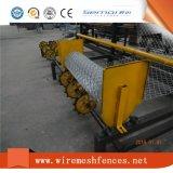 Machine de clôture en maille à chaîne à double fil entièrement automatique à double fil