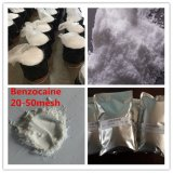 99.9% Reinheit-lokaler betäubender DrogeBenzocaine mit 20-50mesh Großbritannien CAS: 94-09-7
