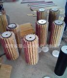 Balai de bande de sisal avec le papier de sable pour le polonais en bois