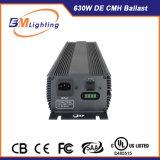 중국 공장 Hydroponic 630 와트 CMH는 전구 Dimmable 전자 밸러스트 날개 반사체 장비를 증가한다