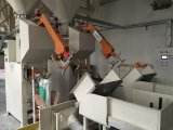Máquina de rellenar de la válvula de 25 kilogramos del polvo exacto del saco