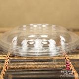 Rectángulo redondo de la ensalada plástica disponible del animal doméstico (pequeño)