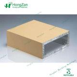 Panneau en aluminium de nid d'abeilles de revêtement de construction de qualité