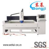 Máquina de cristal del CNC de la alta precisión para el vidrio Shaped del ribete