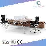 普及したスタッフ表のオフィス用家具のコンピュータの机ワークステーション