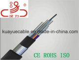 Cavo dell'audio del connettore di cavo di comunicazione di cavo di dati del cavo del cavo ottico/calcolatore di GYTS