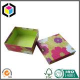 Duas do cartão do papel da jóia partes de caixa de apresentação