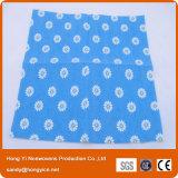 Пробитые иглой Nonwoven полотенца ткани, супер ткань чистки Abosrbent