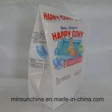 Refuerzo lateral plástico caja de embalaje bolsa de pañales para bebés