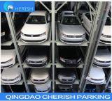 Elevador do estacionamento do carro do armazenamento do veículo do quadrilátero de Overground