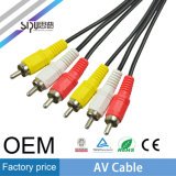 Sipu LED Display 2RCA AV Cable pour DVD Audio Vidéo