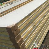Панели крыши сандвича EPS холодной комнаты фабрики популярные Corrugated