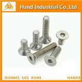 Parafuso principal de Csk do soquete Hex do aço inoxidável M12 DIN7991