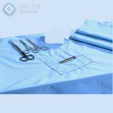 Vliesstoff-Wegwerfgewebe des antibakterielles Anti-Blut chirurgisches Kleidbedsheet-Material-SMS