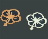 autoadesivo del chiodo dell'autoadesivo di arte del chiodo di trasferimento dell'acqua della decalcomania di tasto del fiore 3D