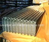La pleine tuile de toit dure en métal de HDG/a ridé la feuille en acier galvanisée de toit