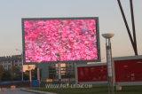 Muestra al aire libre a todo color de la visualización de LED P8 con el brillo 6000nits