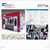De vier-zes-As van het Merk van Ccb van de Machines van Delin CNC Oppoetsende Machine