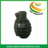 Изготовленный на заказ шарик усилия PU конструкции ручной гранаты печатание логоса