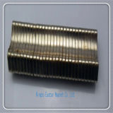 ニッケルメッキの特別なカスタマイズされたN42ネオジムの磁石