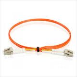 Fibra óptica Patchcord de LC/Upc-LC/Upc Dx milímetro Om3