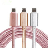 Nylon Braided быстро поручая кабель USB заряжателя Sync данных