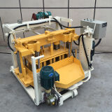 油圧移動式手動具体的な卵置くブロック機械