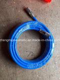 12mm blaues PU-Gefäß mit weiblicher Befestigung 18NPT beide Enden (1/4 '' NPT)