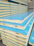 El panel de emparedado de la PU con la hoja de acero de Bao